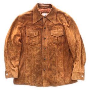 Vintage Mervyn's suede jacket
